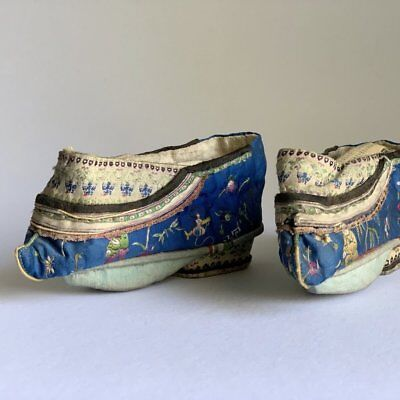 Chinese Qing Dynasty Lotus Shoes