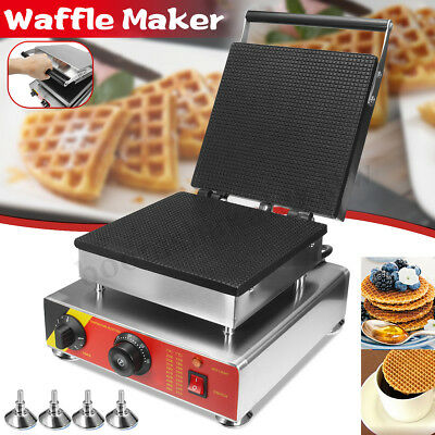 220V Electric Waffle Maker Machine Oven Waffle Pan Muffin Kitchen Household Kit