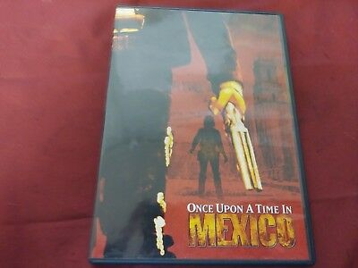 Once Upon A Time In Mexico Salma Hayek Antonio Banderas Dvd Movie Film Disc 2003