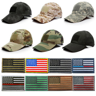 Hot Special Forces Operator Tactical American US Flag Patch for Baseball Hat Cap