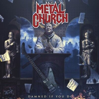 Metal Church - Damned If You Do Vinyl LP Nuclear Blast NEW
