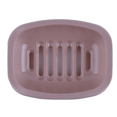 Soap Box Bathroom Dish Shower Box Plastic Single Layer Soap Case With Lid BS