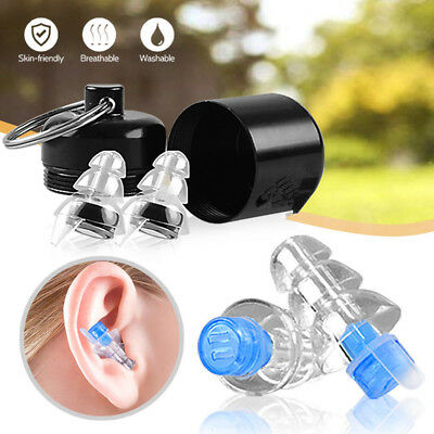 Earplugs for Concerts Musicians Motorcycles Noise Cancelling Ear Plugs Two Sizes