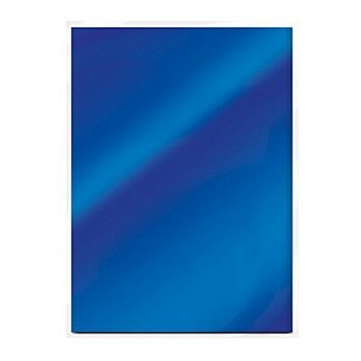 (imperial Blue) - Craft Perfect High Gloss Mirror Card A4, Imperial Blue