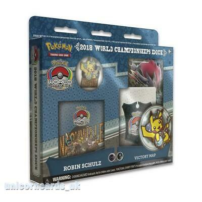 Pokemon TCG: 2018 World Championships Deck - Robin Schulz :: Brand New And Seale