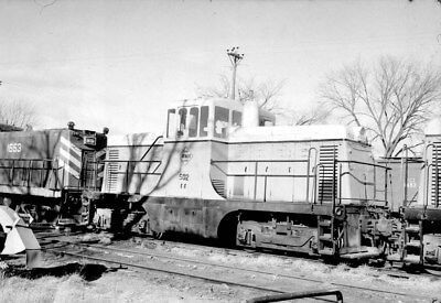 Negative - Fort Dodge, Des Moines & Southern Ry. GE 44-Ton Diesel Unit No. 502