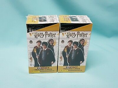 Panini Harry Potter Contact Trading Cards 2 x Display / 48 Booster Tierwesen