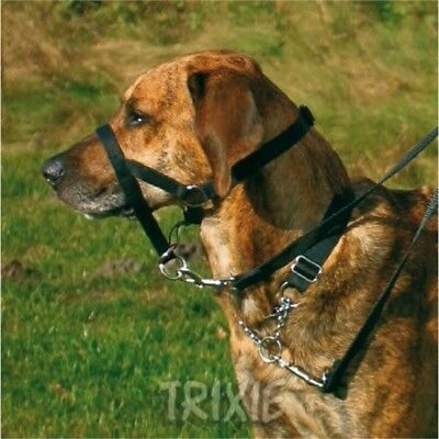 Trixie Top Trainer Training Harness - Dog Head Size Pulling Pet Puppy Collar