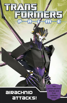 Transformers Prime: Airachnid Attacks!: Book 4 (Transformers Prime Chapter Bk),