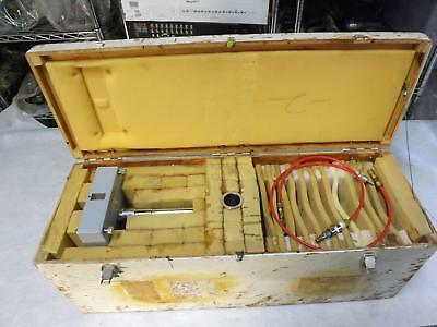 RJ Karr 750.A, 750A Floating Ball Dead Weight Tester, Calibrator, Primary Standa