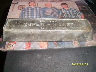 St. Joe Lead Co. Super Nickle Ingot Very Rare