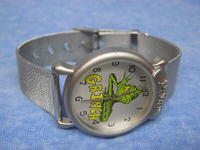 Men's THE GRINCH Water Resistant Watch by DR. SEUSS w/ New Battery