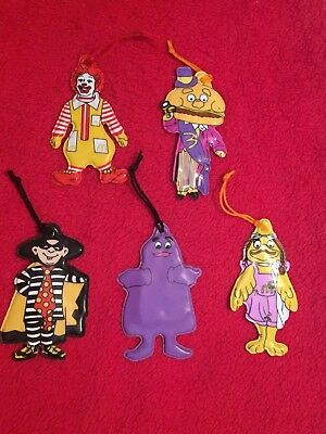 Vintage McDonald Set Of 5 (1983)  Ornaments