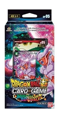 DragonBall Super Card Game - Miraculous Revival Special Pack Set :: Brand New An