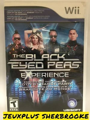 Black Eyed Peas Experience (Nintendo Wii, 2011) (COMPLETE IN BOX)