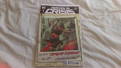 New! Heroes in Crisis issue 1 of 9 cover variant 6 by DC Comics