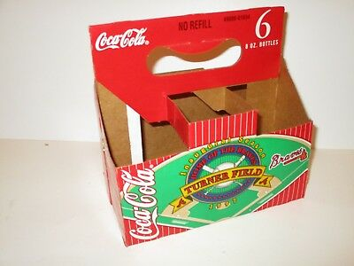 Atlanta Braves Turner Baseball Field Inaugural Season Coke Cardboard Carrier