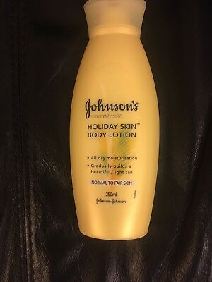 """""""Johnson's """" Holiday Skin Body Lotion (Normal to Fairskin) 250ml New"""