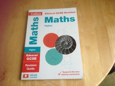 Collins Edexcel Gcse Maths Higher Revision Guide 2015 Grade 9-1 Answers Exam Que