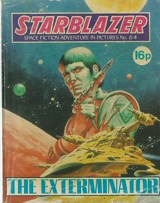 The Exterminator,starblazer Space Fiction Adventure In Pictures,comic,no.64