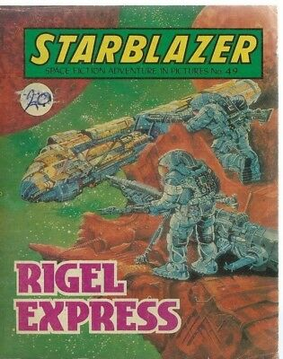 Rigel Express,starblazer Space Fiction Adventure In Pictures,comic,no.49