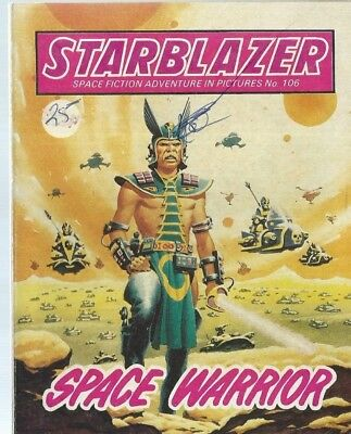 Space Warrior,starblazer Space Fiction Adventure In Pictures,comic,no.106