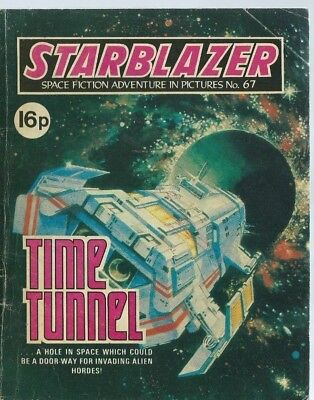 Time Tunnel,starblazer Space Fiction Adventure In Pictures,comic,no.67