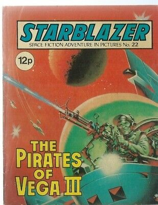 The Pirates Of Vega Starblazer Space Fiction Adventure In Pictures,comic,no.22