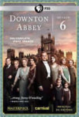 Downton Abbey: Complete Season 6 Sixth Final 3-Disc Set DVD VIDEO MOVIE TV show