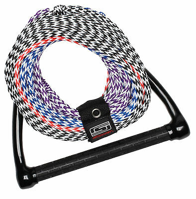 Slippery Four Section Rope Multi/Blue/Red