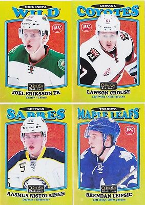 16-17 OPC Platinum Lawson Crouse /149 Rookie RETRO GOLD RAINBOW Coyotes 2016