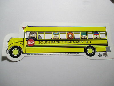South Park Elementary School Bus Decal