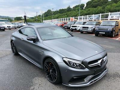 2016 66 Mercedes-Benz C63 S Amg Edition 1 Coupe 5.5 Bi-Turbo V8 503Bhp