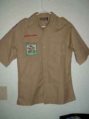 Webelos/Boy Scout Youth Large Uniform Shirt