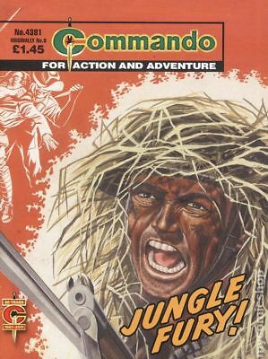 Commando for Action and Adventure (U.K.) #4381 2011 VG/FN 5.0 Stock Image