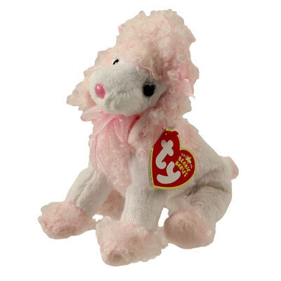 71dfac06d24 TY Beanie Baby - DIVALIGHTFUL the Poodle (6 inch) - MWMTs Stuffed Animal Toy