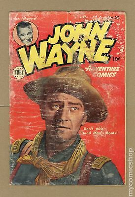 John Wayne Adventure Comics #28 1954 PR 0.5