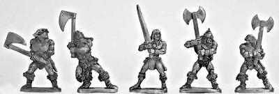 Mirliton SG Grenadier 25mm Barbarians w/Two-Handed Weapons Pack MINT
