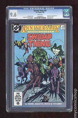 Swamp Thing (2nd Series) #50 1986 CGC 9.6 1204858016