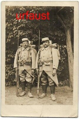 French WWI Soldiers Lebel Rifle Bayo Go To War Photo