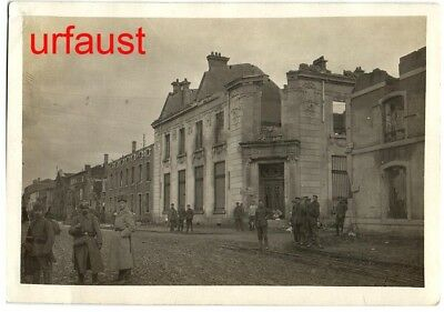 German WWI Etain Meuse Rue Grande Photo