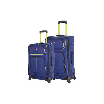SwissGear Travel Gear 6288 2 Piece Expandable Spinner Luggage Set NEW