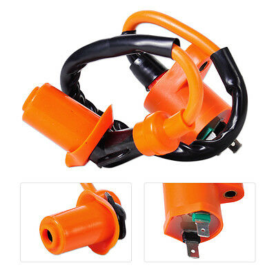 Performance Racing Ignition Coil Fits GY6 50cc 125cc 150cc Scooter ATV Go Kart
