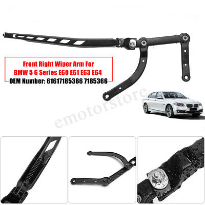 Front Right Passenger Side LCI Hand Wiper Arm For BMW 5 6 Series E60 E61 E63 E64