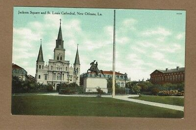 New Orleans,LA Louisiana Jackson Square and St. Louis Cathedral