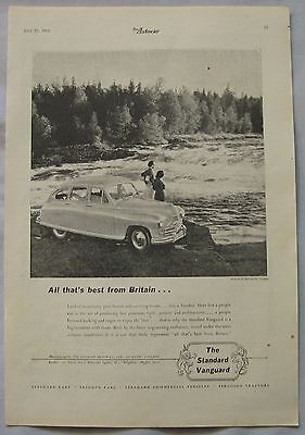 1952 Standard Vanguard Original advert No.2