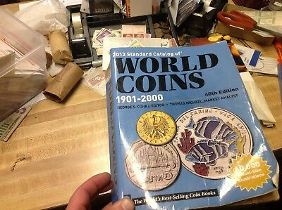 BOOK-2013 Krause Standard Catalog of World Coins 1901-2000 40th Edition