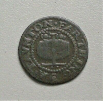 Somerset, Taunton, 1667, Farthing, 2 Dots, Good Very Fine condition,, [C404]