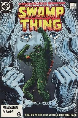 Swamp Thing (2nd Series) #51 1986 FN Stock Image
