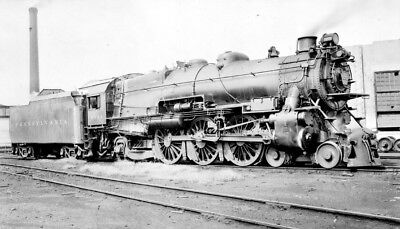 Negative - Pennsylvania Railroad 4-6-2 Type Steam Locomotive No. 2032